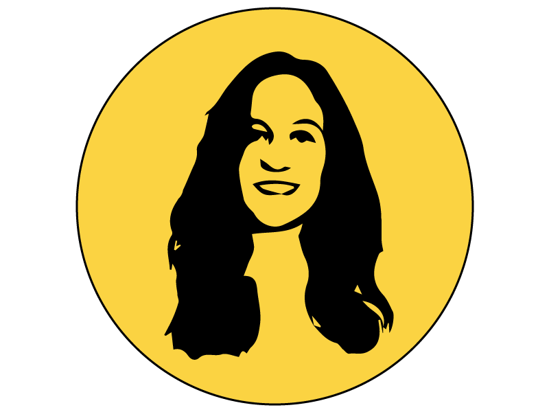 Circle colour pop image of Madeleine Robson, Founder of Robson Digital